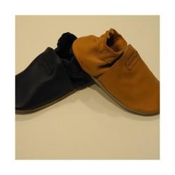 ROBEEZ , chausson en cuir végétal,  modèle : M'Y FIRST - Chaussures ou chaussons BOBUX et ROBEEZ - BAMBINOS - Voir en grand