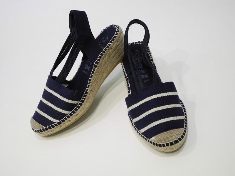 Chaussure talon espadrille - Voir en grand