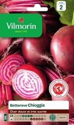 betterave chioggia vilmorin cuisine du monde graine semence potager sachet semis - Voir en grand