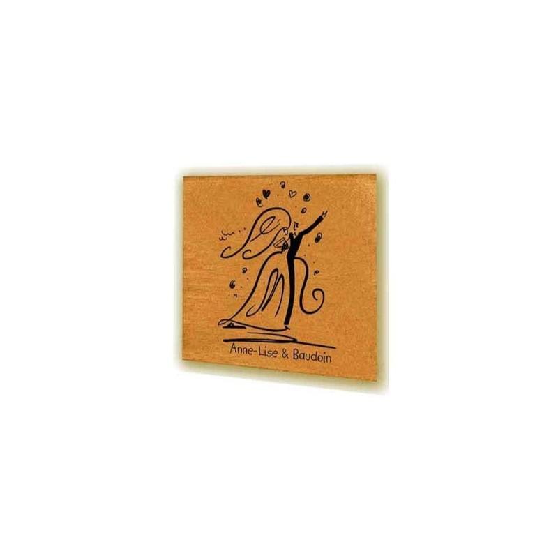 Tampon scrapbooking mariage personnalis degas couple moderne amalgame imprimeur graveur - Tampon cuisine personnalise ...