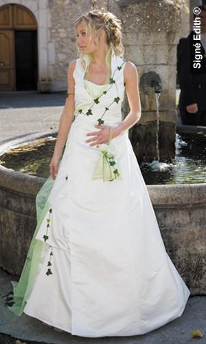 Robe de mariee modulable lierre version cérémonie - Voir en grand