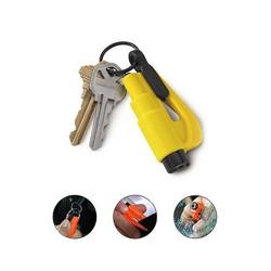brise vitre coupe ceinture resqme compact efficace en cas d'accident pour secourir porte clef