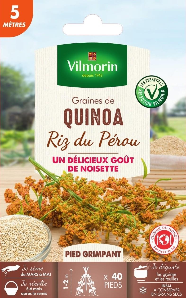 quinoa riz du perou vilmorin graine semence potager sachet semis - Voir en grand