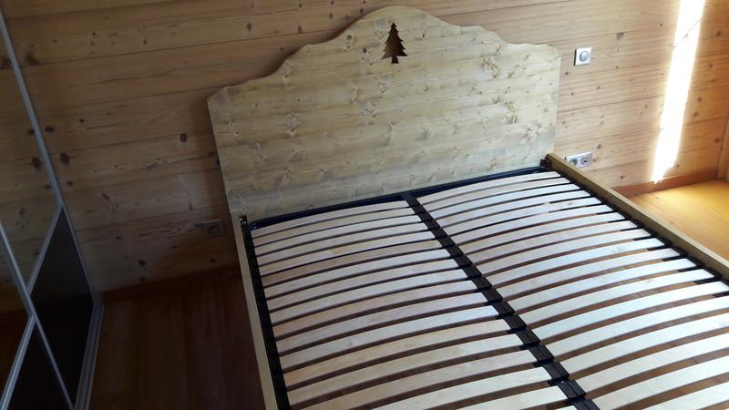 bois de lit style montagne deco sapin - VERCORS LITERIE