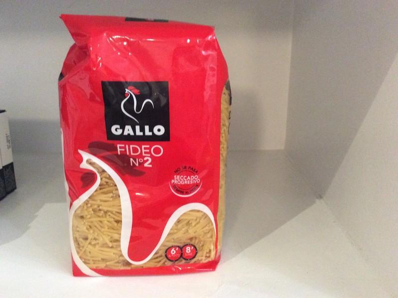 PATES pour Fideua N° 2  (Gallo) - RIZ & PATES - LA COCINA, Saveurs d'Espagne - Voir en grand