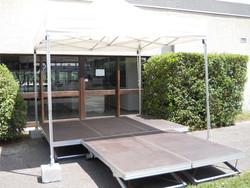 Podium réglabe 750kg/m²     - Voir en grand