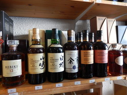 les whiskies du japon