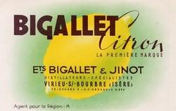 BIGALLET - SIROPS & LIQUEURS