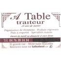 A TABLE TRAITEUR
