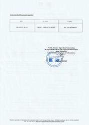 Agrément phytosanitaire phytopharmaceutique Le Pavot Bleu