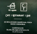 CAFE FOCH