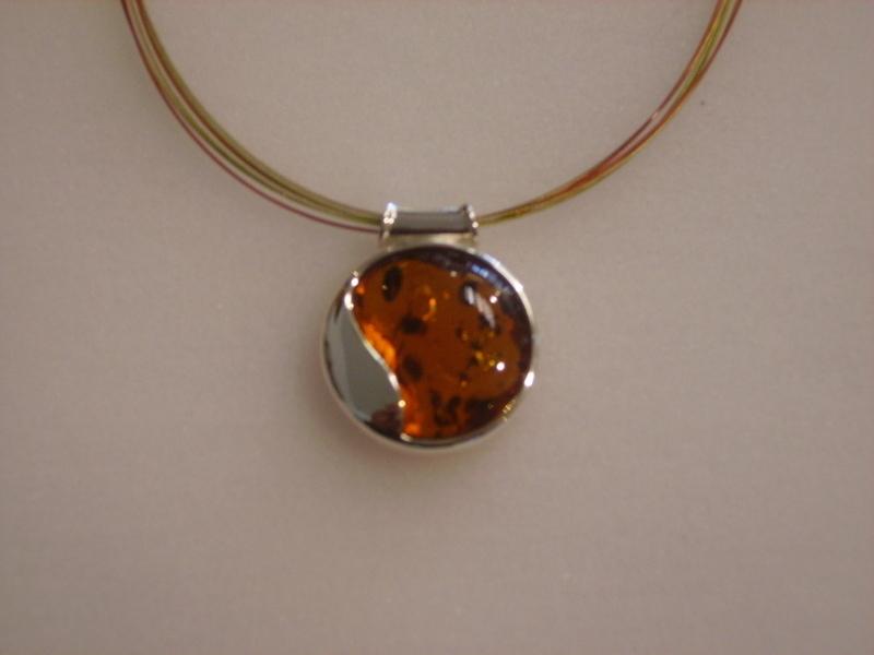 collier ambre - La boutique - ATELIER LE BERY'L - Voir en grand