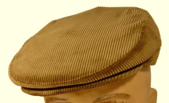 casquette homme velours