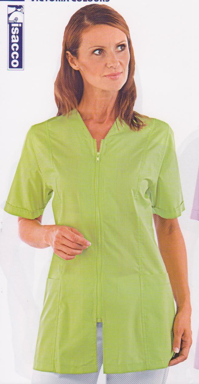 TUNIQUE FEMME VICTORIA - ISACCO - BLOUSES & TUNIQUES FEMME - vêtements linge de maison - Voir en grand