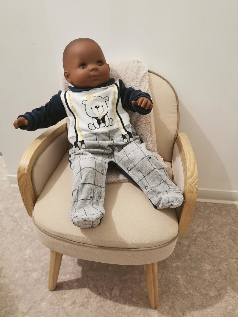 Pyjama garçon - Bebe 3 à 12 mois - MALIN CAPRICE - Voir en grand