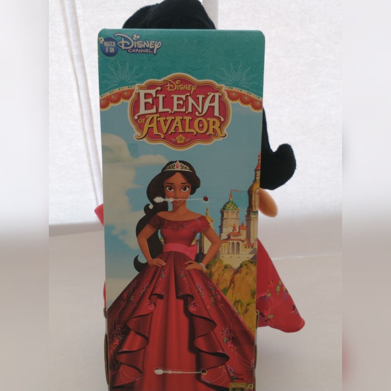 Peluche Elena d'Avalor Disney 28 cm - Voir en grand