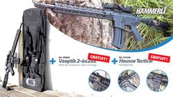 Pack Hämmerli Tac-R1 22LR+ LUNETTE VEOPTIK+HOUSSE - HAMMERLI/UMAREX - GIPECHASSE - Voir en grand