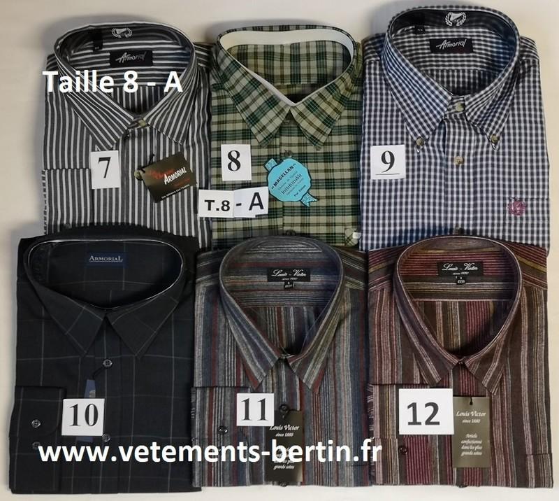 Chemises, Tailles 8  - A, Internet, www.vetements-bertin.fr - Voir en grand