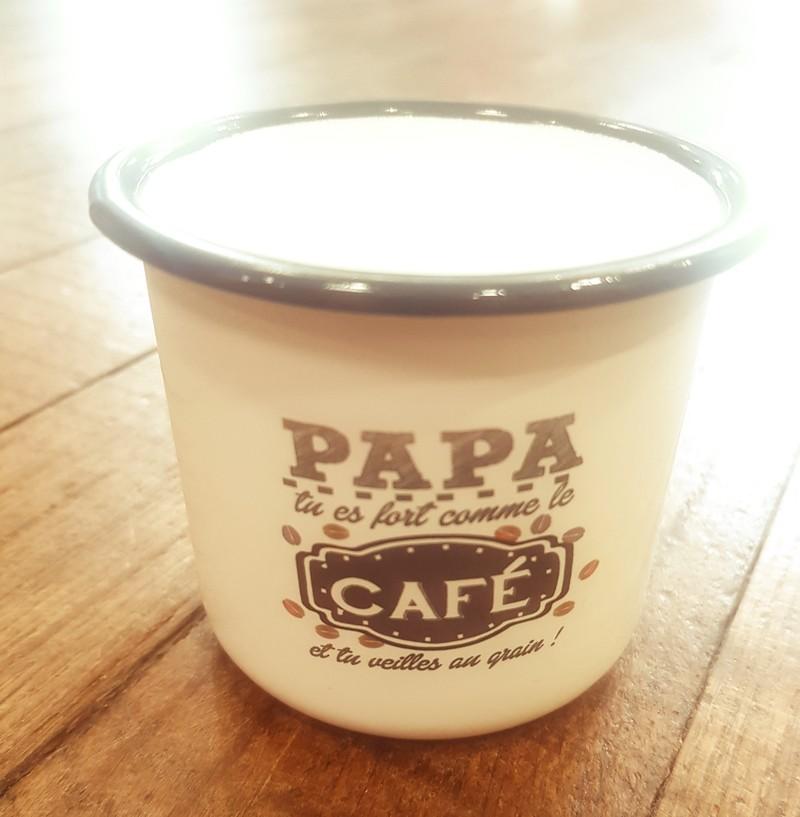 Mug/Tasse Papa tu es fort comme le café... - Voir en grand