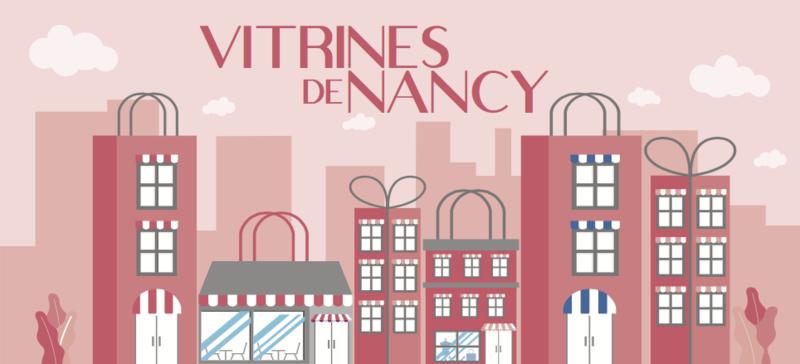 POCHETTE CADEAU VITRINES DE NANCY  - ACHAT CHEQUES CADEAUX  - Les Vitrines de Nancy  - Voir en grand