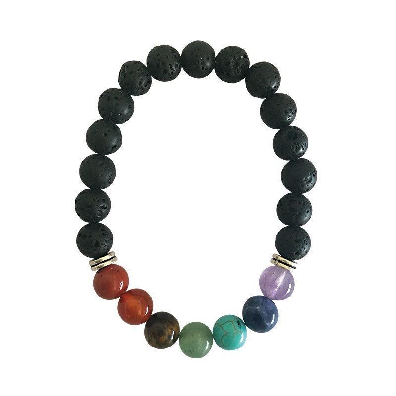 Bracelet 7 chakras-11 - BIJOUX  ESOTERIQUES - Librairie UNIVERS - Voir en grand