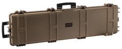 Mallette XL Waterproof TAN 137 x 39 x 15 cm mousse vague - MALLETTES-FOURREAUX ARMES LONGUES - GIPECHASSE - Voir en grand