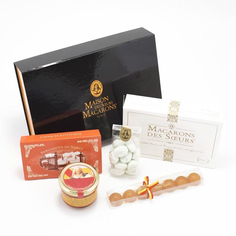 Populaire préféré Coffret cadeau N°6 de la Maison des Soeurs Macarons à Nancy @HP_75