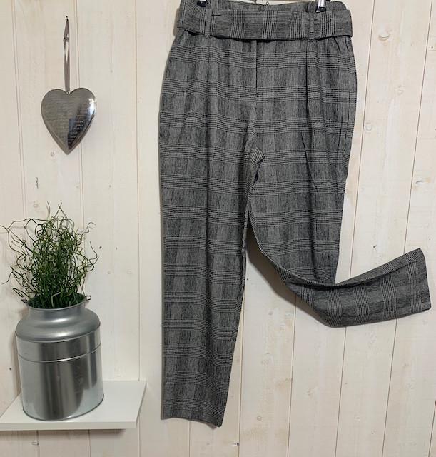 Pantalons Chino carreaux paperbag - Pantalons - INSTAGLAM - Voir en grand