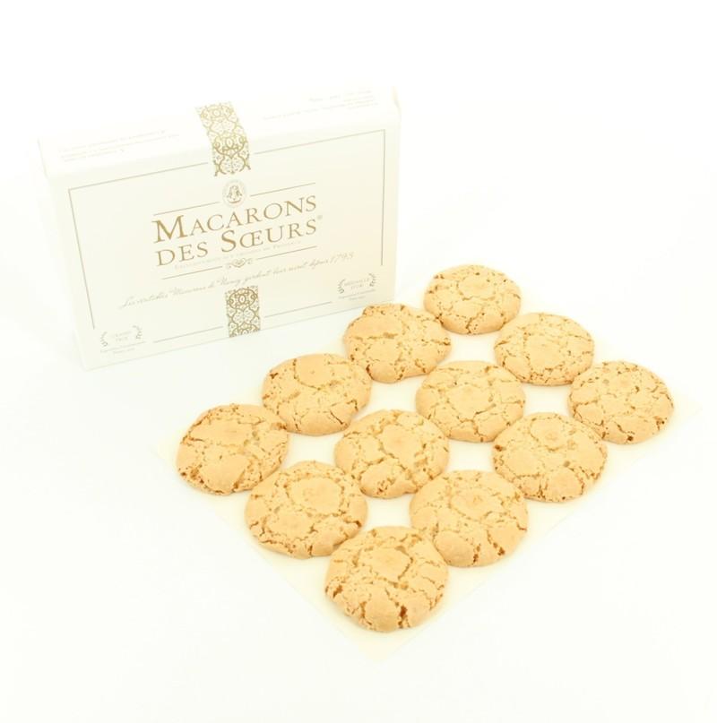 Le Macaron : exclusivement avec des amandes de provence - Macaron de Nancy  - MAISON DES SOEURS MACARONS - Voir en grand