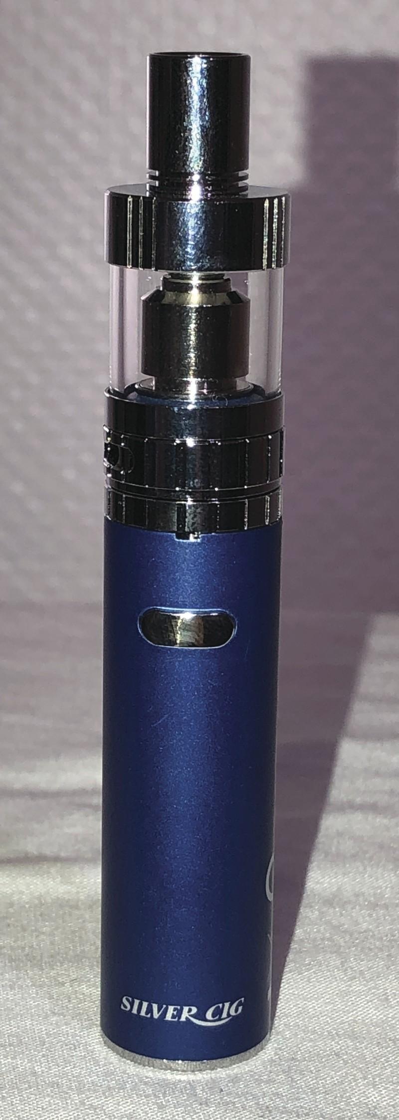 E cigarette E SHADE Bleue  - Le Brazza NANCY - Voir en grand