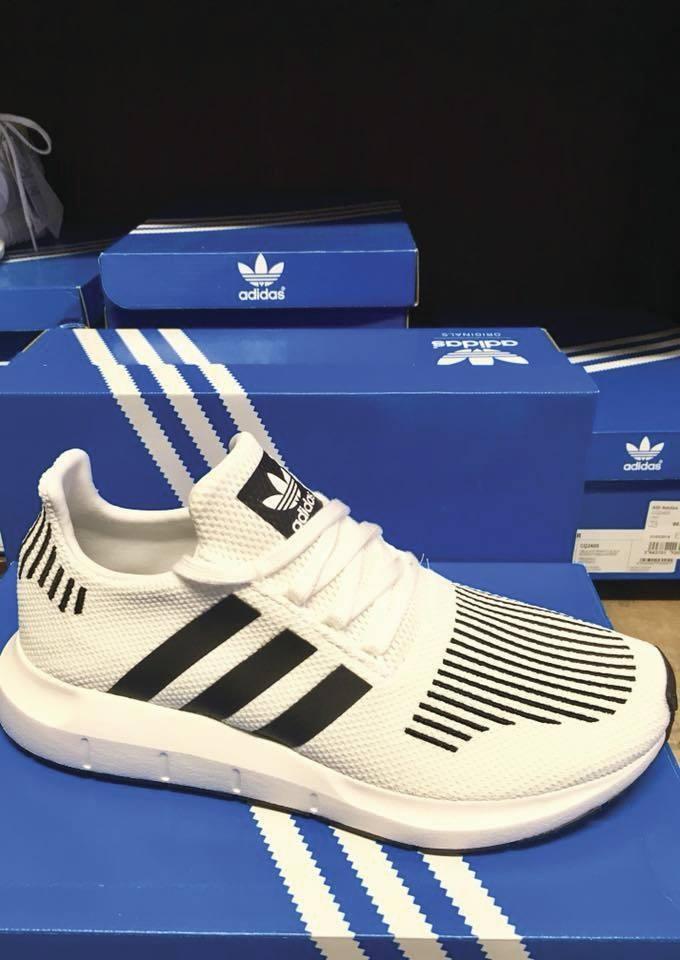 3444dc56c5fc57 Adidas nouvelle collection printemps été 2018 - ADIDAS - CHAUSSURES JANE -  KLEIN et BADER