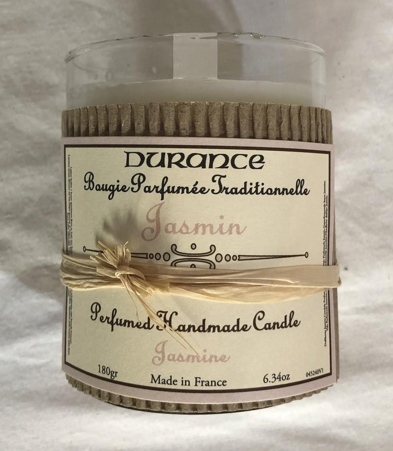 Bougie parfumée traditionnelle DURANCE Jasmin   - Voir en grand