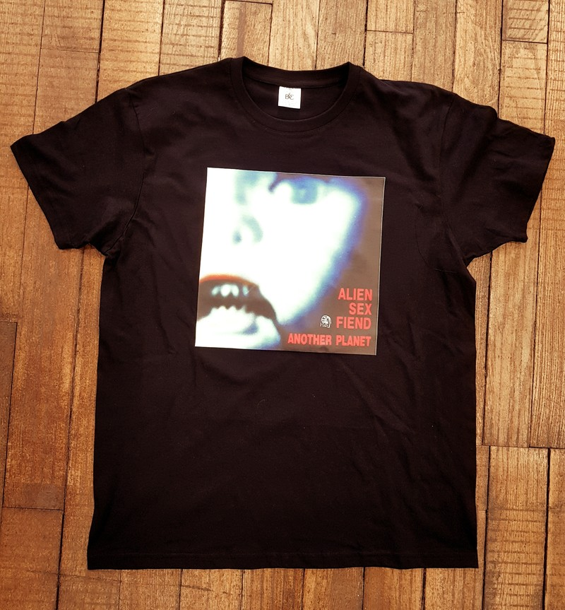T-shirt Noir Alien Sex Friend - T-SHIRT PERSONNALISE A MESSAGE - TIME'S - CADEAUX PERSONNALISES - Voir en grand