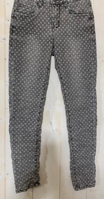 Jean de la marque Toxik gris imprimé pois - 2.jpeg - Voir en grand