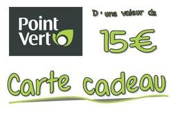 Carte cadeau 15 ¤ - MAFRA Point Vert dans les Vosges - Voir en grand