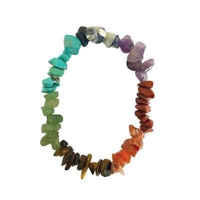 Bracelet 7 chakras - BIJOUX  ESOTERIQUES - Librairie UNIVERS - Voir en grand