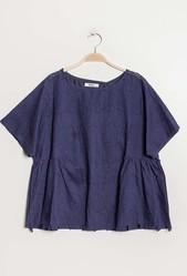 blouse bleue -place des filles luneville -  - PLACE DES FILLES  - Voir en grand