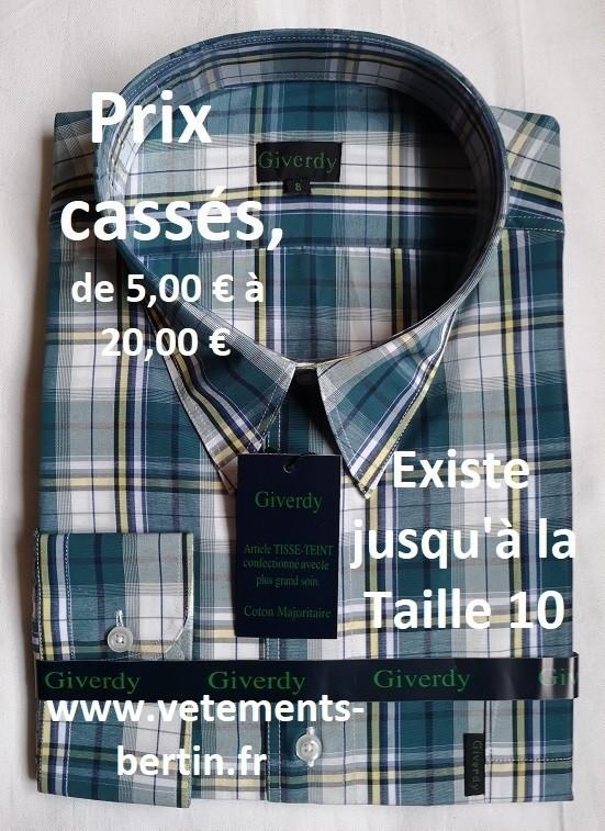 Chemises grande taille homme Taille 48 | Achat en ligne sur
