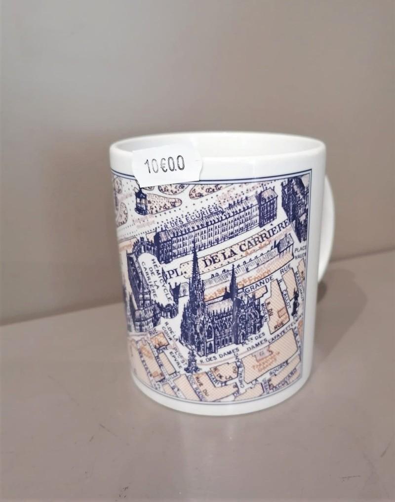 Mug carte Lettre Shop - Mugs - Les Vitrines de Nancy  - Voir en grand