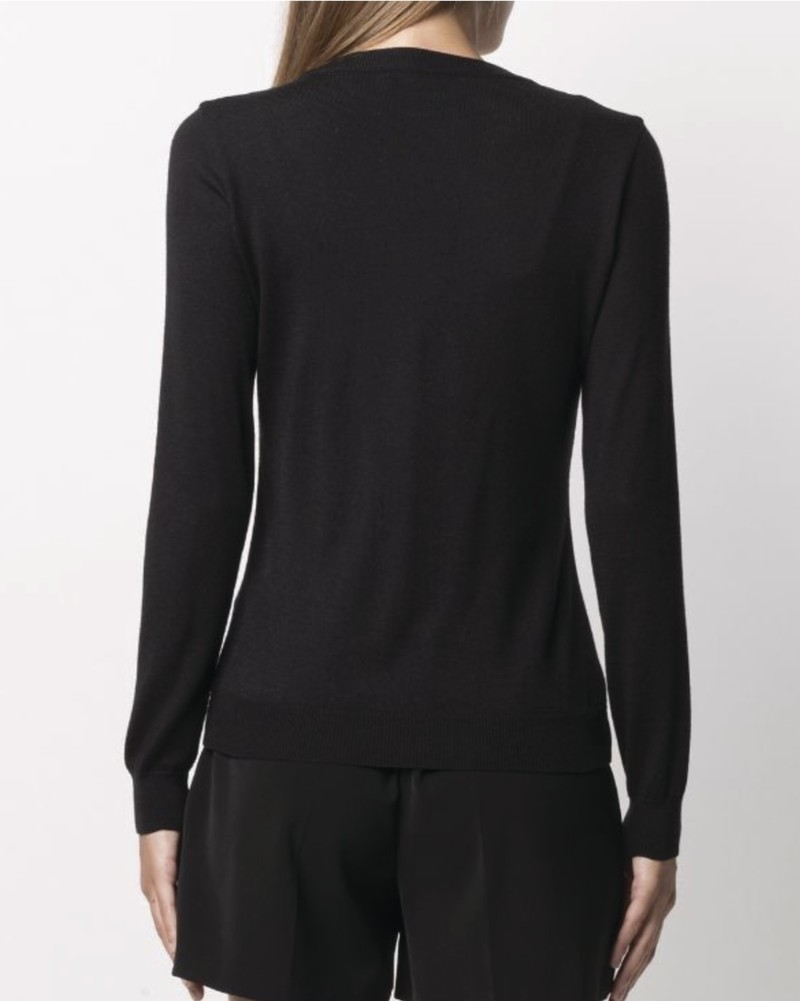 PULL ENCOLURE PERLE BOUTIQUE MOSCHINO - Voir en grand