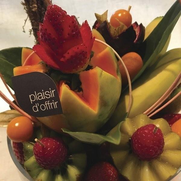 Album photo corbeilles de fruits - Corbeilles de fruits - AUX QUATRE SAISONS - Voir en grand