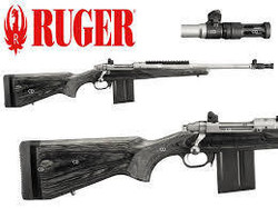 CARABINE RUGER GUNSITE SCOUT INOX CAL 308WINCH - RUGER - GIPECHASSE - Voir en grand