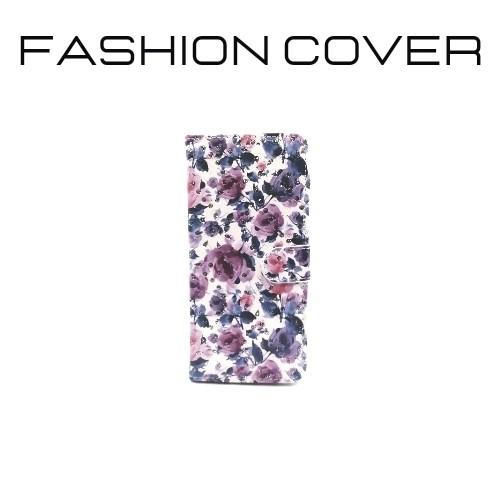 Fond blanc avec rose violette et bleu.jpg - Voir en grand
