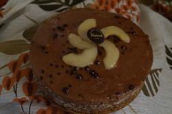 le lumière Poires Chocolat et caramel   - Voir en grand
