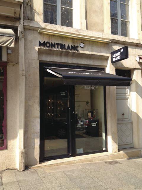Montblanc - Culture/Loisirs  - Les Vitrines de Nancy  - Voir en grand