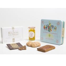 Coffret de spécialités Lorraine au temps de la Renaissance Maison des Soeurs Macarons à Nancy  - Voir en grand
