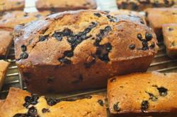 cake aux myrtilles - Voir en grand