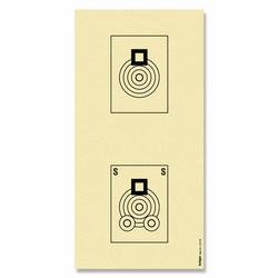 CIBLE BENCHREST 22 LR  100M      20.2 x 40.4 cm -  CIBLES - GIPECHASSE - Voir en grand