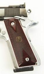 Pachmayr American Custom Colt 1911 Bois De Rose Laminé  - PLAQUETTES POIGNEES ARMES DE POING - GIPECHASSE - Voir en grand