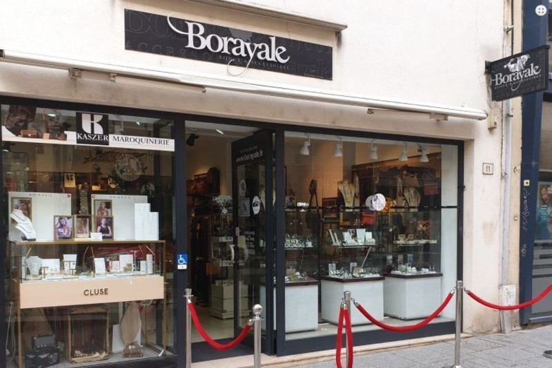 Borayale  - Bijouterie Horlogerie  - Les Vitrines de Nancy  - Voir en grand